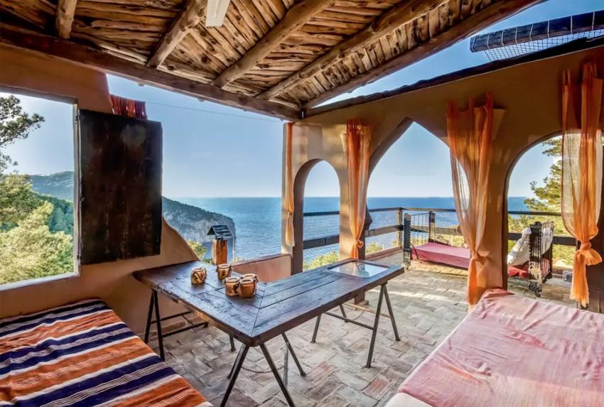 apartamento vistas al mar en Ibiza