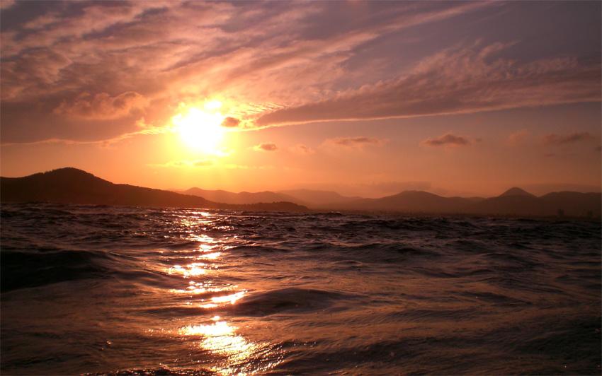 puesta de sol ibiza