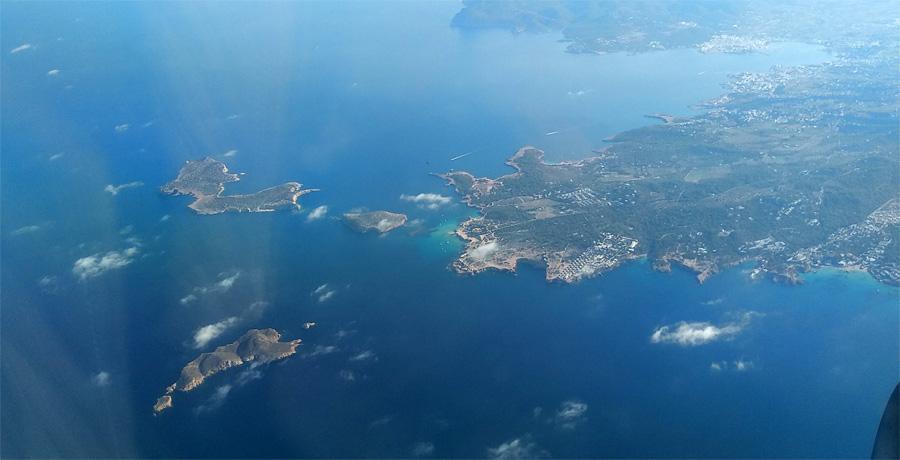 islas sa conillera, s'espartar y illa des bosc ibiza