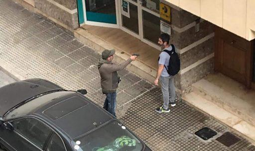 ladron pistola ibiza