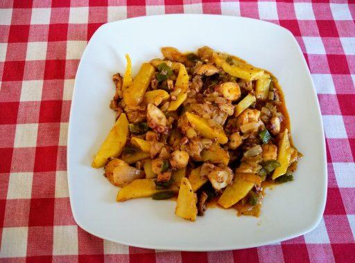 frita de pulpo ibiza